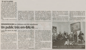 2 annonce journal 11 dec 2011 concert Cristiana Eso-musée-bal-limoges